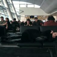 イスタンブル、アタチュルク空港、午前7時。2012年11月28日。